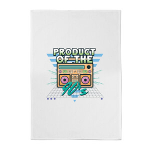Product Of The 90's Boom Box Cotton Tea Towel