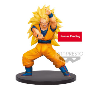 Banpresto Dragon Ball Super Super Saiyan 3 Son Goku Chosenshi Retsuden Vol.4 Statue
