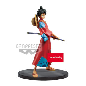 Statuetta Monkey D. Rufy (Rubber), One Piece, The Grandline Men DXF – Banpresto