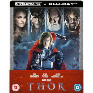 Thor 4K UHD (incluye Blu-ray 2D) - Steelbook Edición Limitada Exclusivo Zavvi (Edición GB)