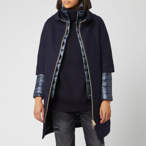Herno Women's Layered Jacket - Navy