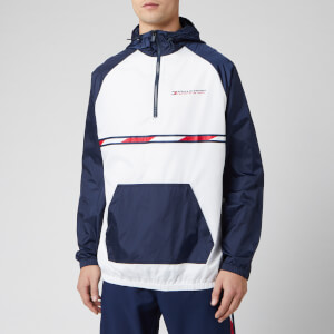 Tommy Hilfiger Sport Men's Woven Jacket - PVH White