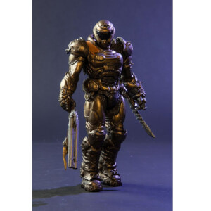 McFarlane Toys DOOM - DOOM Slayer Bronze Variant 7 Inch Figure