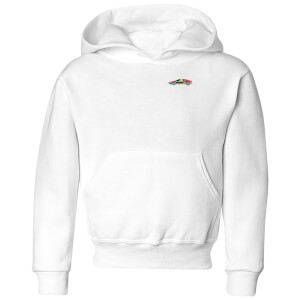 Small Car Kids' Hoodie - White