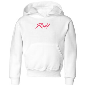 Rad! Kids' Hoodie - White