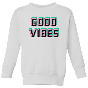 Good Vibes Kids' Sweatshirt - White