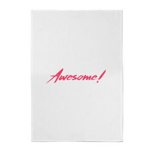 Awesome! Cotton Tea Towel