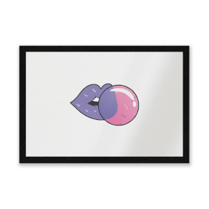Bubblegum Entrance Mat