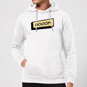 Booom Hoodie - White