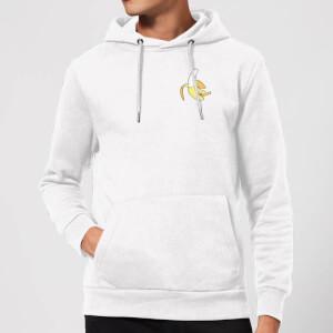 Small Banana Hoodie - White
