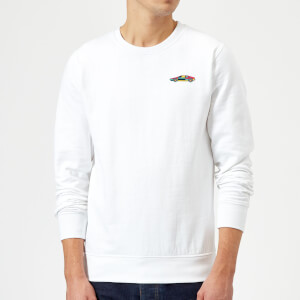 Small Car Sweatshirt - White