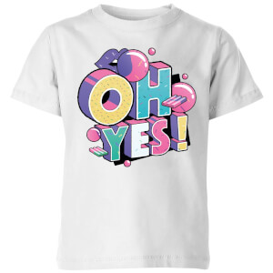 Oh Yes! Kids' T-Shirt - White