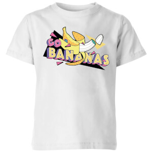 Go Bananas Kids' T-Shirt - White