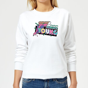 Always Young Women's Sweatshirt - White
