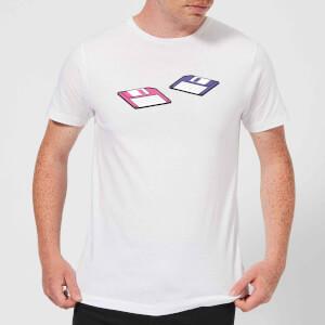 Floppy Disks Men's T-Shirt - White