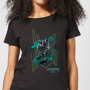 Spider-Man Far From Home Stealth Suit Women's T-Shirt - Black