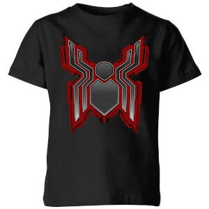 Spider-Man Far From Home Tech Icon Kids' T-Shirt - Black