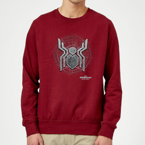 Spider-Man Far From Home Web Icon Sweatshirt - Burgundy
