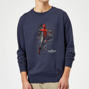 Spider-Man Far From Home Upgraded Suit Sweatshirt - Navy