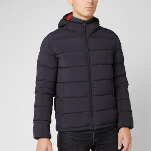 Herno Men's Woven Jacket - Black/Orange