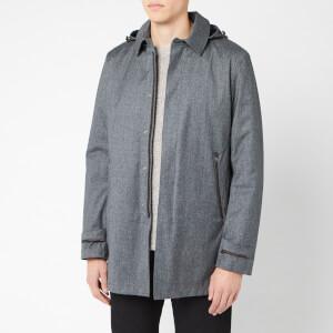 Herno Men's Laminor Raincoat - Grey