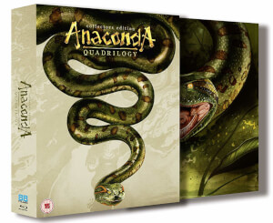 Anaconda Quadrilogy 1-4 Boxset