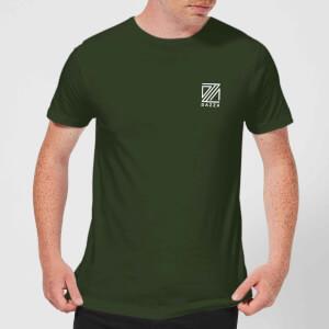 Dazza Pocket Text Men's T-Shirt - Forest Green