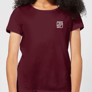 Dazza Pocket Women's T-Shirt - Burgundy