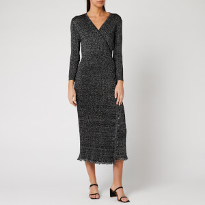 Diane von Furstenberg Women's Bobbi Midi Dress - Black