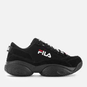 FILA Men's Provenance Trainers - Black/Black/White