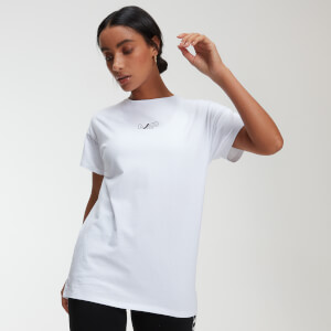 MP Power Women's Oversized T-Shirt - White