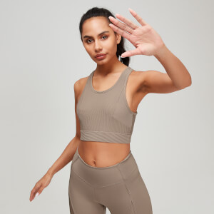 Naisten MP Textured Training Sports Bra - Praline