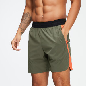 "Training 7"" Shorts - Army Green/Spark"
