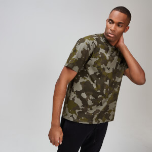MP Rest Day Men's Pocket Stitch T-Shirt - Camo