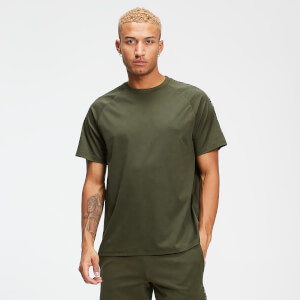 MP Men's Rest Day Double Tape Tricot T-Shirt - Army Green