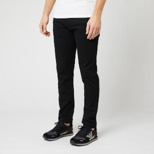 Emporio Armani Men's Black Skinny Jeans - Black