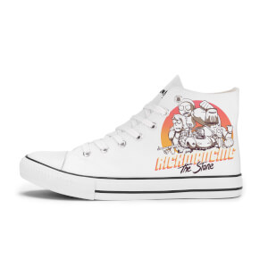 Rick and Morty Rickmancing The Stone Shoes - White