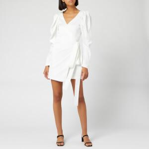 ROTATE Birger Christensen Women's Number 31 Dress - Bright White