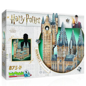 Harry Potter Hogwarts Astronomy Tower 3D Puzzle (875 Pieces)