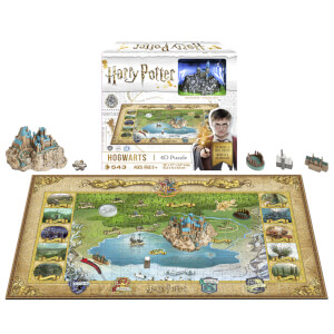 Harry Potter Mini Hogwarts Puzzle (543 Pieces)