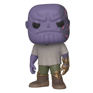 Marvel - Thanos Con Infinity Gauntlet Figura Pop! Vinyl