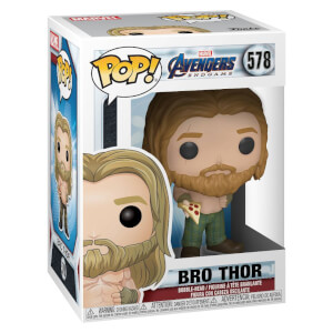 Figurine Pop! Marvel Avengers Endgame Thor Avec Pizza