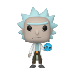 Rick and Morty - Rick Con Teschio Di Cristallo Figura Funko Pop! Vinyl
