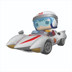 Figurine Pop! Ride Speed Avec Mach 5 - Speed Racer