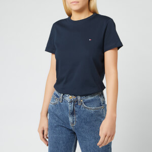 Tommy Hilfiger Women's Heritage Crew Neck T-Shirt - Midnight