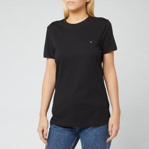Tommy Hilfiger Women's Heritage Crew Neck T-Shirt - Masters Black