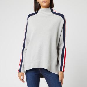 Tommy Hilfiger Women's Maisy Mock-Neck Sweater - Light Grey Heather
