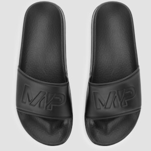 MP Heren Sliders - Zwart