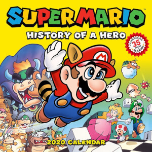 Super Mario History of a Hero Calendar 2020