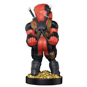 Soporte Mando o Móvil Marvel Deadpool Smart Ass (20 cm) - Cable Guy